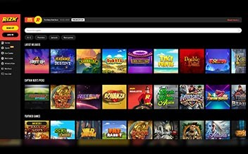 Screenshot 3 Rizk Casino