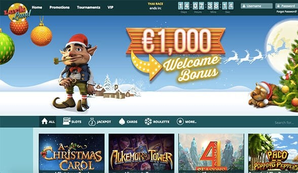 Screenshot 2 Luckland Casino