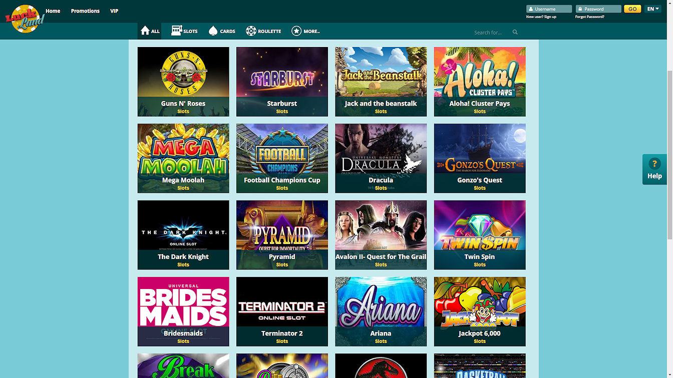 Screenshot 3 Luckland Casino