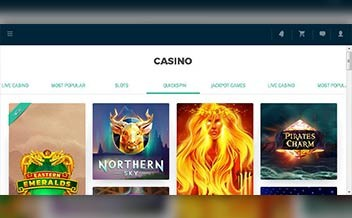 Screenshot 2 EuroLotto Casino